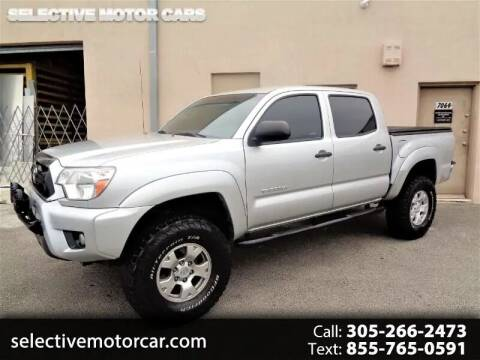 2013 Toyota Tacoma for sale at Selective Motor Cars in Miami FL