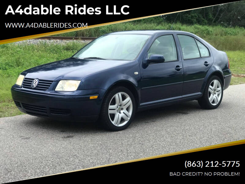 2001 Volkswagen Jetta for sale at A4dable Rides LLC in Haines City FL