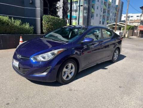 2014 Hyundai Elantra for sale at Good Vibes Auto Sales in North Hollywood CA