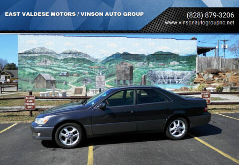 2001 Lexus ES 300 for sale at EAST VALDESE MOTORS / VINSON AUTO GROUP in Valdese NC