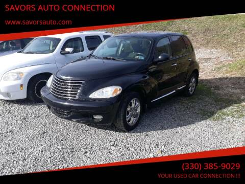 2005 Chrysler PT Cruiser for sale at SAVORS AUTO CONNECTION LLC in East Liverpool OH