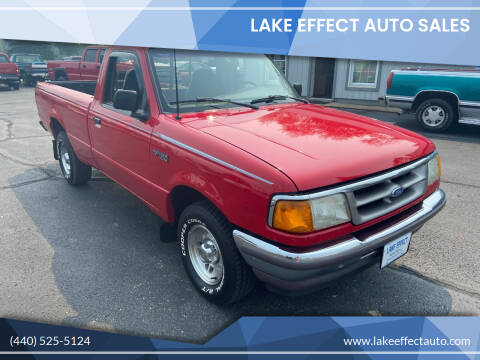 1996 Ford Ranger for sale at Lake Effect Auto Sales in Chardon OH