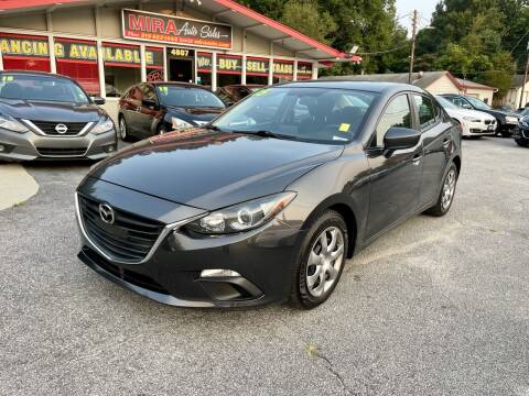 2015 Mazda MAZDA3 for sale at Mira Auto Sales in Raleigh NC