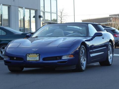 2004 Chevrolet Corvette for sale at Loudoun Motor Cars in Chantilly VA
