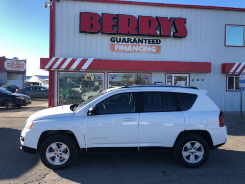 2016 Jeep Compass for sale at Berry's Cherries Auto in Billings MT