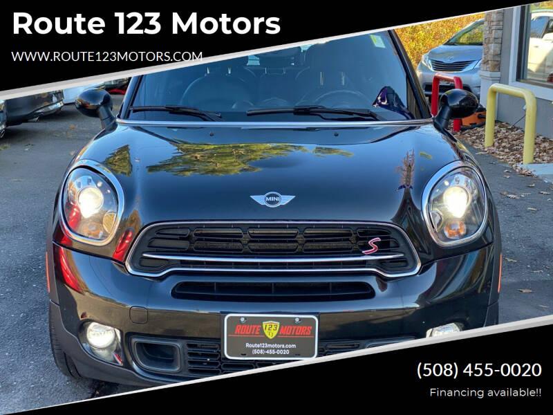 2015 MINI Countryman for sale at Route 123 Motors in Norton MA