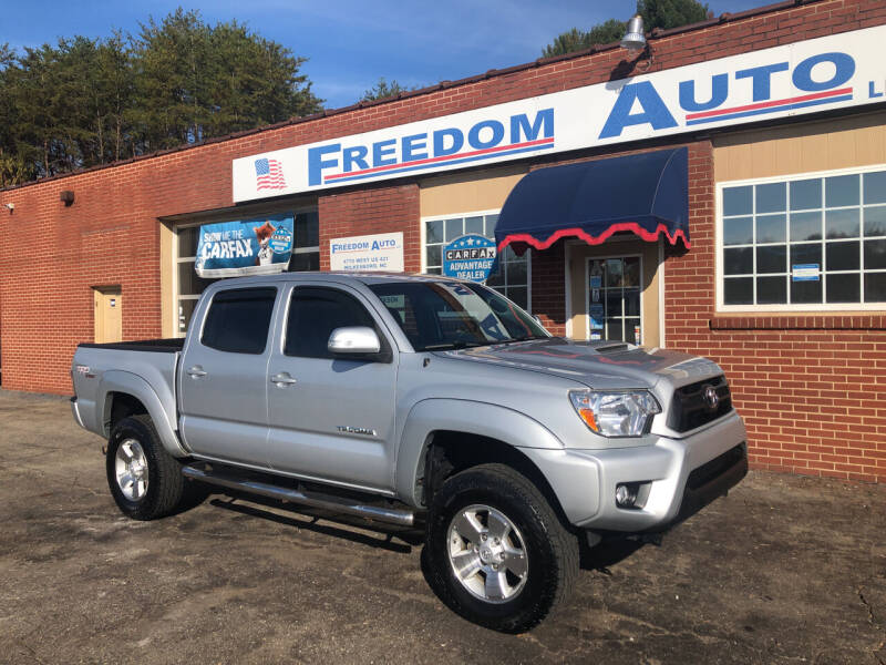 2012 Toyota Tacoma for sale at FREEDOM AUTO LLC in Wilkesboro NC
