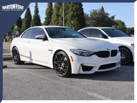 2018 BMW M4 for sale at BARTOW FORD CO. in Bartow FL