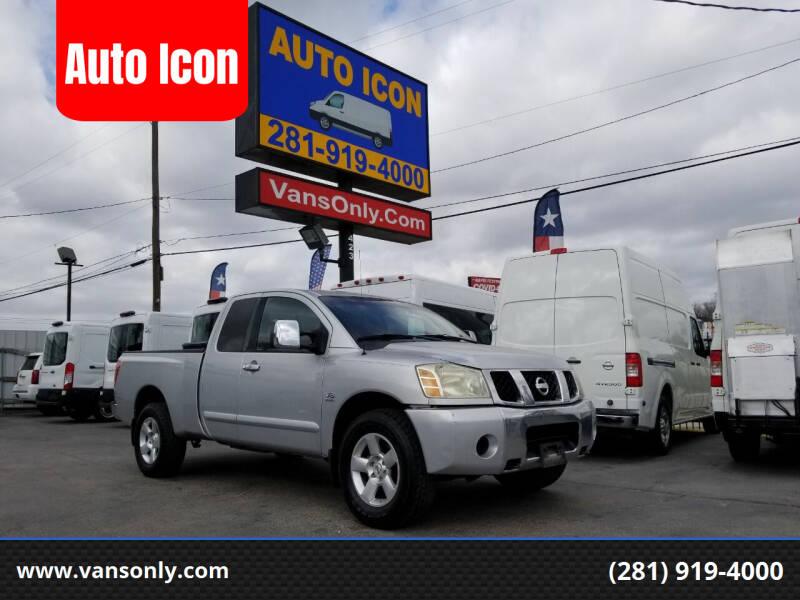2004 Nissan Titan for sale at Auto Icon in Houston TX