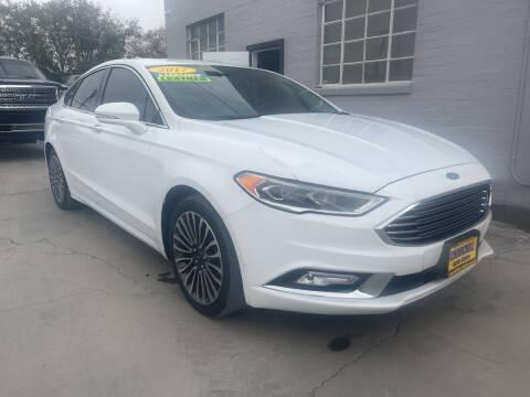 2017 Ford Fusion for sale at CHURCHILL AUTO SALES in Fallon NV