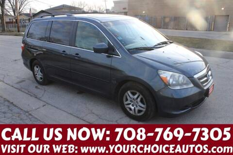 2006 Honda Odyssey for sale at Your Choice Autos in Posen IL