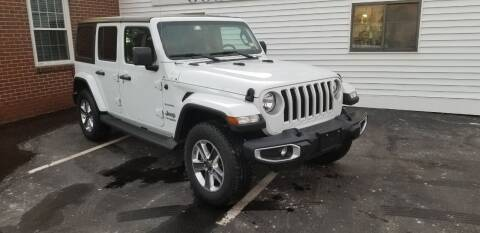 2020 Jeep Wrangler Unlimited for sale at Classic Motor Sports in Merrimack NH