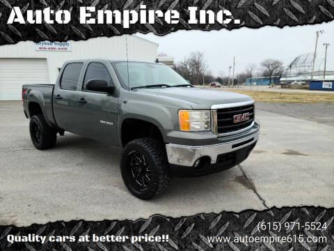 2011 GMC Sierra 1500 for sale at Auto Empire Inc. in Murfreesboro TN