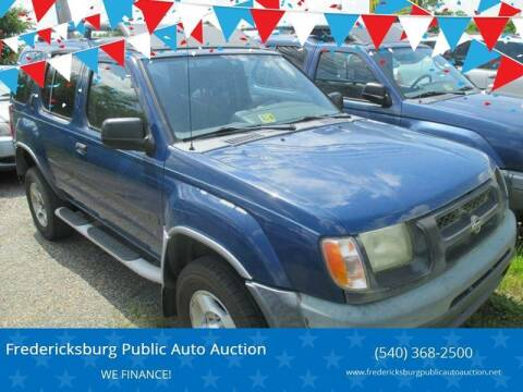 2001 Nissan Xterra for sale at FPAA in Fredericksburg VA
