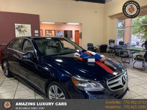 2014 Mercedes-Benz E-Class for sale at Amazing Luxury Cars in Snellville GA