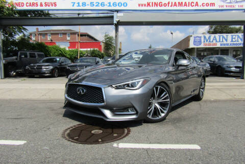 2019 Infiniti Q60 for sale at MIKEY AUTO INC in Hollis NY