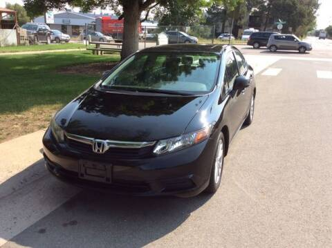 2012 Honda Civic for sale at Auto Brokers in Sheridan CO