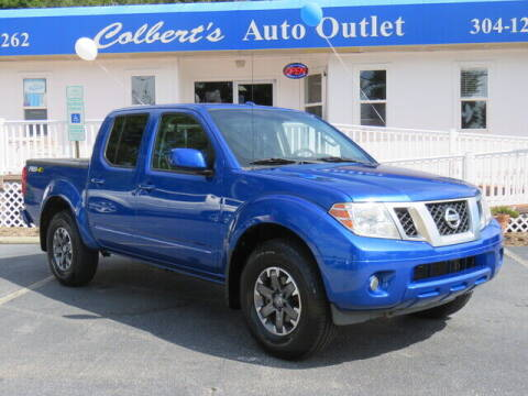 2015 Nissan Frontier for sale at Colbert's Auto Outlet in Hickory NC