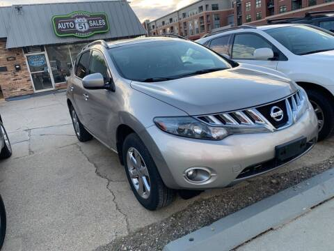 2009 Nissan Murano for sale at LOT 51 AUTO SALES in Madison WI