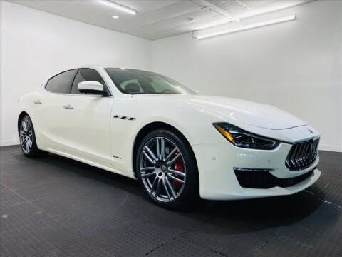 2018 Maserati Ghibli for sale at Champagne Motor Car Company in Willimantic CT