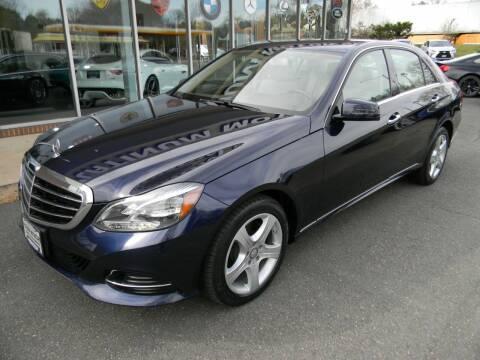 2016 Mercedes-Benz E-Class for sale at Platinum Motorcars in Warrenton VA