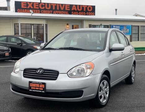 2010 Hyundai Accent for sale at Executive Auto in Winchester VA