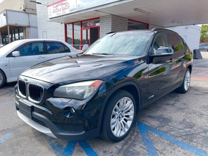 2013 BMW X1 for sale at MotorSport Auto Sales in San Diego CA