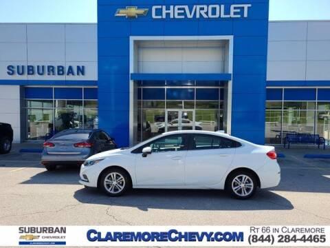 2018 Chevrolet Cruze for sale at Suburban Chevrolet in Claremore OK