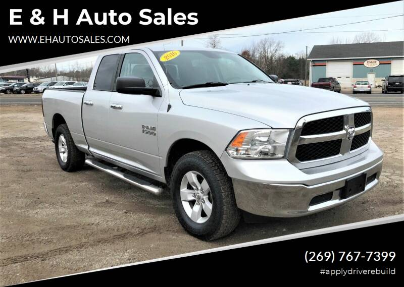 2016 RAM Ram Pickup 1500 for sale at E & H Auto Sales in South Haven MI
