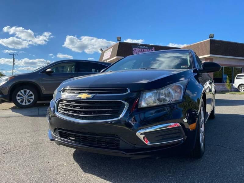 2015 Chevrolet Cruze for sale at Central 1 Auto Brokers in Virginia Beach VA