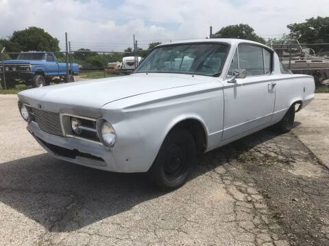 1965 Plymouth Barracuda for sale at Mafia Motors in Boerne TX