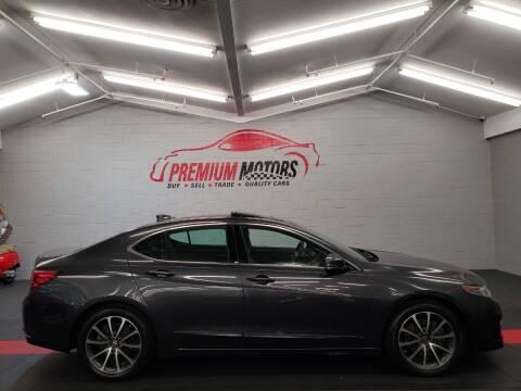 2015 Acura TLX for sale at Premium Motors in Villa Park IL