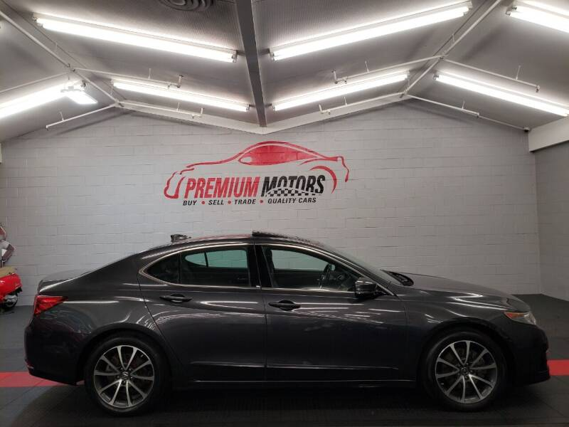 2015 Acura TLX for sale at Premium Motors in Villa Park IL