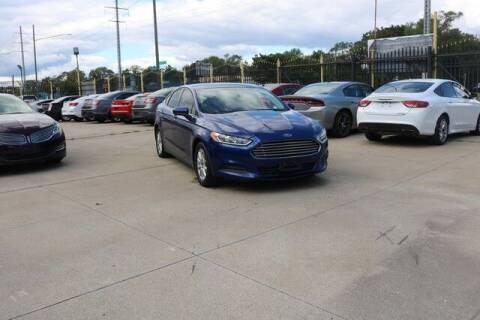 2016 Ford Fusion for sale at F & M AUTO SALES in Detroit MI