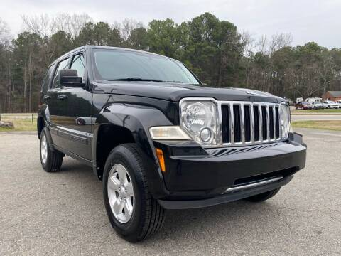 2012 Jeep Liberty for sale at CVC AUTO SALES in Durham NC