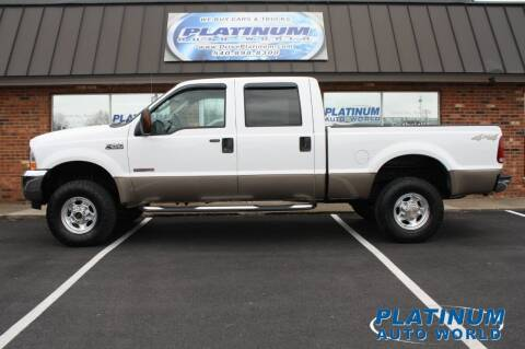 2004 Ford F-250 Super Duty for sale at Platinum Auto World in Fredericksburg VA