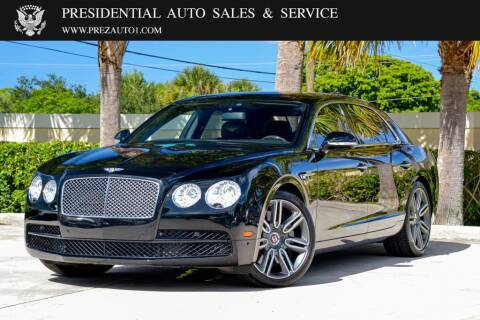 2016 Bentley Flying Spur for sale at Presidential Auto  Sales & Service in Delray Beach FL