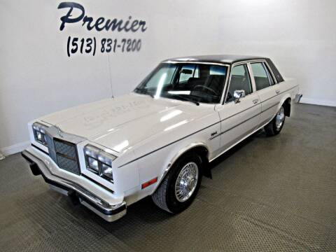 1984 Dodge Diplomat for sale at Premier Automotive Group in Milford OH