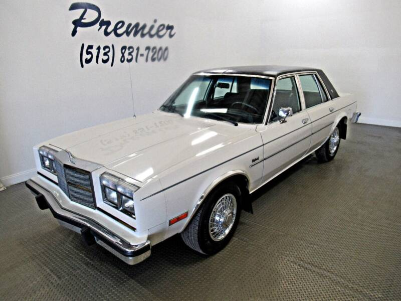 1984 Dodge Diplomat for sale in Milford, OH