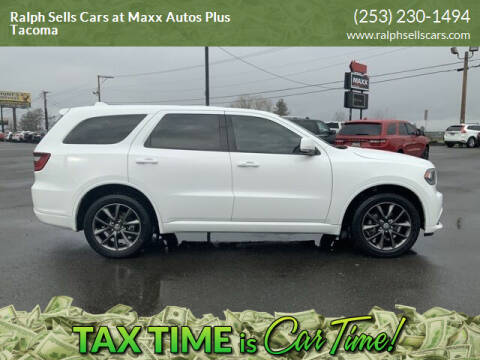 2018 Dodge Durango for sale at Ralph Sells Cars at Maxx Autos Plus Tacoma in Tacoma WA