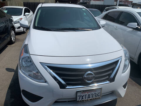 2016 Nissan Versa for sale at GRAND AUTO SALES - CALL or TEXT us at 619-503-3657 in Spring Valley CA