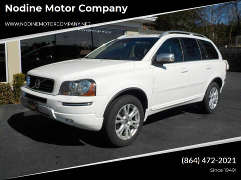 2014 Volvo XC90 for sale at Nodine Motor Company in Inman SC