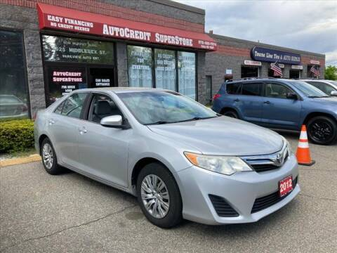 2012 Toyota Camry for sale at AutoCredit SuperStore in Lowell MA