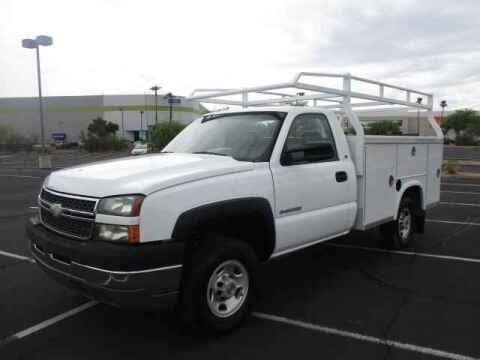 2005 Chevrolet Silverado 2500HD for sale at Corporate Auto Wholesale in Phoenix AZ