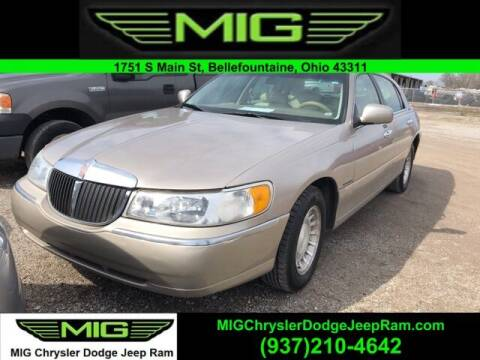 2000 Lincoln Town Car for sale at MIG Chrysler Dodge Jeep Ram in Bellefontaine OH