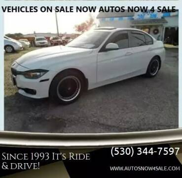 2013 BMW 3 Series for sale at AUCTION SERVICES OF CALIFORNIA in El Dorado CA