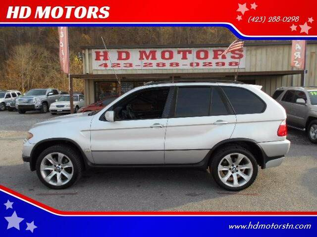2006 BMW X5 for sale at HD MOTORS in Kingsport TN