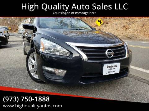 2013 Nissan Altima for sale at High Quality Auto Sales LLC in Bloomingdale NJ