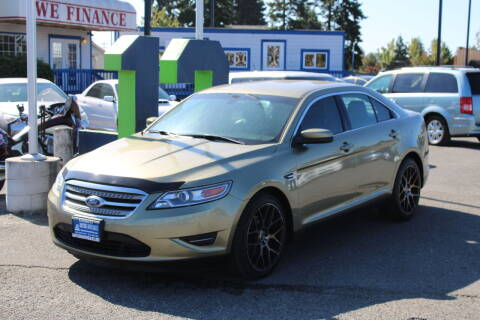 2012 Ford Taurus for sale at BAYSIDE AUTO SALES in Everett WA