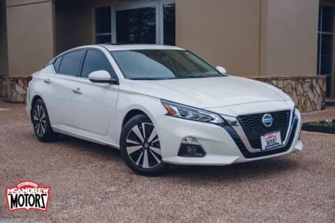 2019 Nissan Altima for sale at Mcandrew Motors in Arlington TX